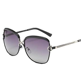 Polariserade klassiska solglasögon för kvinnor