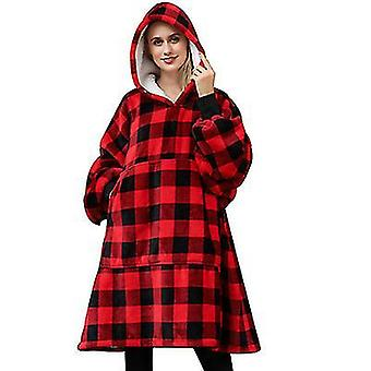 Hooded Pullover Sweater, Winter Cold And Warm Pajamas(Picture1)
