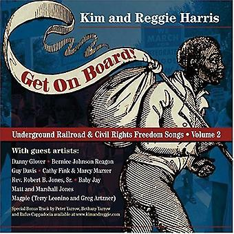 Kim Harris & Reggie - Get on Board-Songs of the Underground [CD] USA import