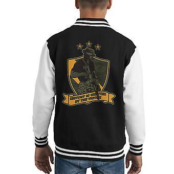 History Writer Call Of Duty Kid's Varsity Jacket