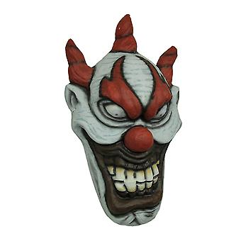 Giant Crazy Evil Clown Wall Costume Mask 31 inch