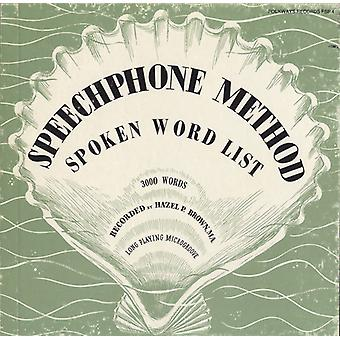 Hazel P. Brown - Speechphone Method: Spoken Word List [CD] USA import