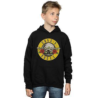 Guns N Roses Boys Bullet Logo Hoodie