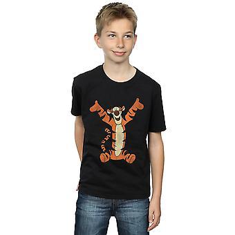 Disney jungen Winnie The Pooh Tigger T-Shirt klassisch