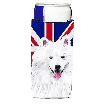 American Eskimo con British inglese Union Jack bandiera Ultra bevanda isolatori f