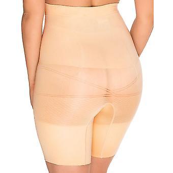 Sans Complexe 699153 naisten Slimmers ihon yritys/Medium valvonta laihtumiseen muotoiluun korkea vyötärö pitkän matkan lyhyt