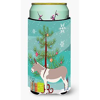 Australian Teamster Donkey Christmas Tall Boy Beverage Insulator Hugger