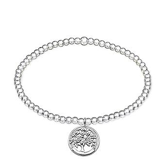 Tree Of Life - 925 Sterling Silver Chain Bracelets - W32452x
