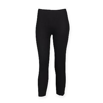 Skinni Fit Womens 3/4 Legging Training Bottoms