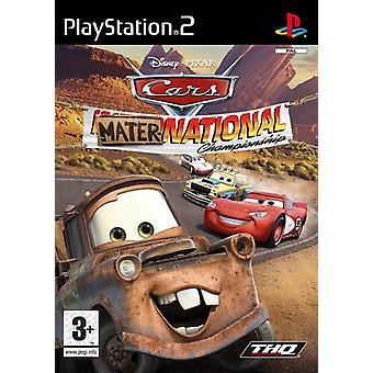 Biler Mater-National (PS2) - Som ny