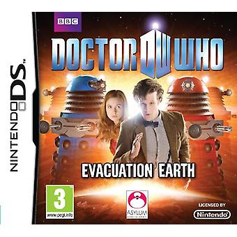 Doctor Who Evacuation Earth (Nintendo DS) - New
