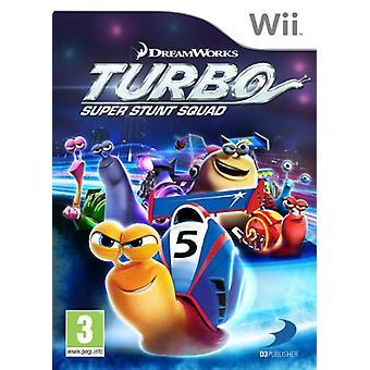 Turbo Super stunt Squad (Nintendo Wii)-in de fabriek verzegeld