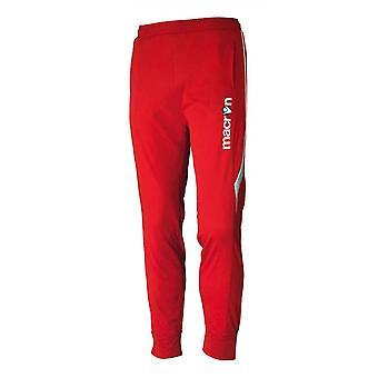 2016-17 Macron Pasha Training Pants (Red) - Kids
