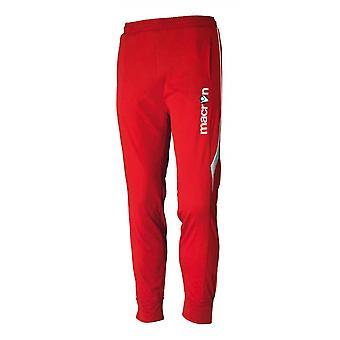 2016-17 macron Pasha pantaloni de antrenament (roșu)-copii