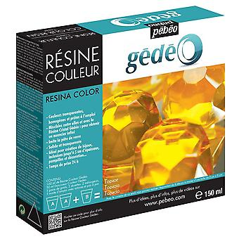 Pebeo Gedeo Colour Resin 150ml (Topaz)