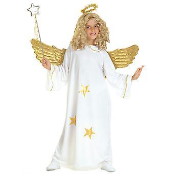 Engel Kostüm (Kleid Halo) Kinder-Sterne