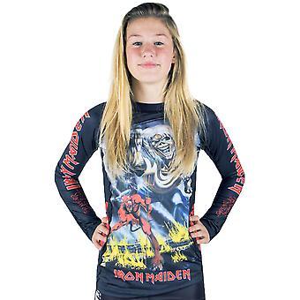 Tatamis Fightwear x Iron Maiden dames nombre de la bête manches longues Rashguard