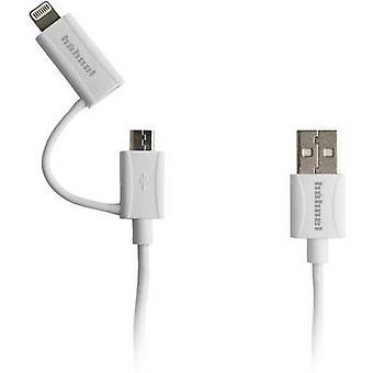 Hähnel Fototechnik 2in1 Micro-USB, Lightning 10006520 Şarj kablosu