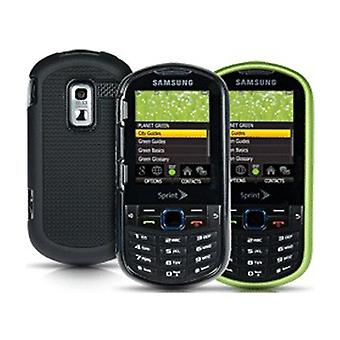 Sprint 2 pack Hard Shell Case for Samsung Restore M570 (Green/Black)