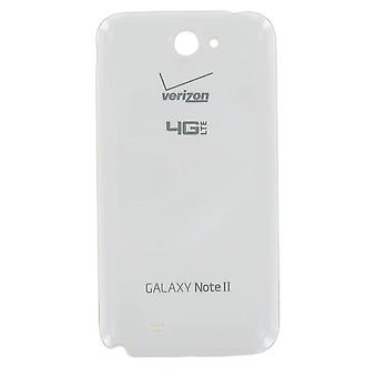 OEM Samsung Galaxy Note 2 i605  Battery Door for Verizon - Marble White