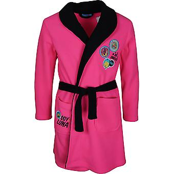 Girls DHQ2205 Soy Luna Fleece Dressing Gown Size : 6 -12 Years