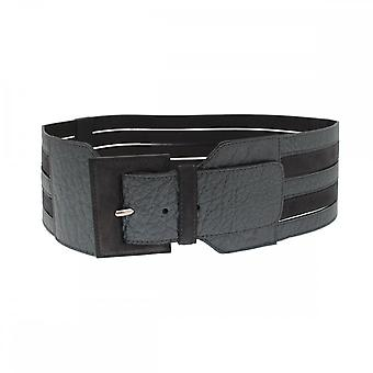 Opika Women's Wide Leather Belt Strap Detail