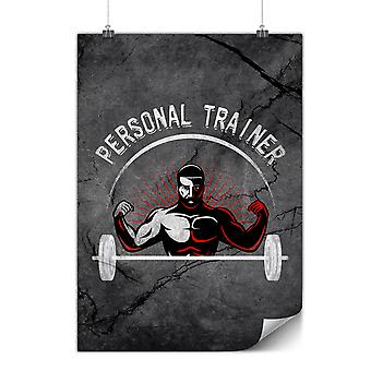 Matte or Glossy Poster with Personal Trainer Job | Wellcoda | *y3587