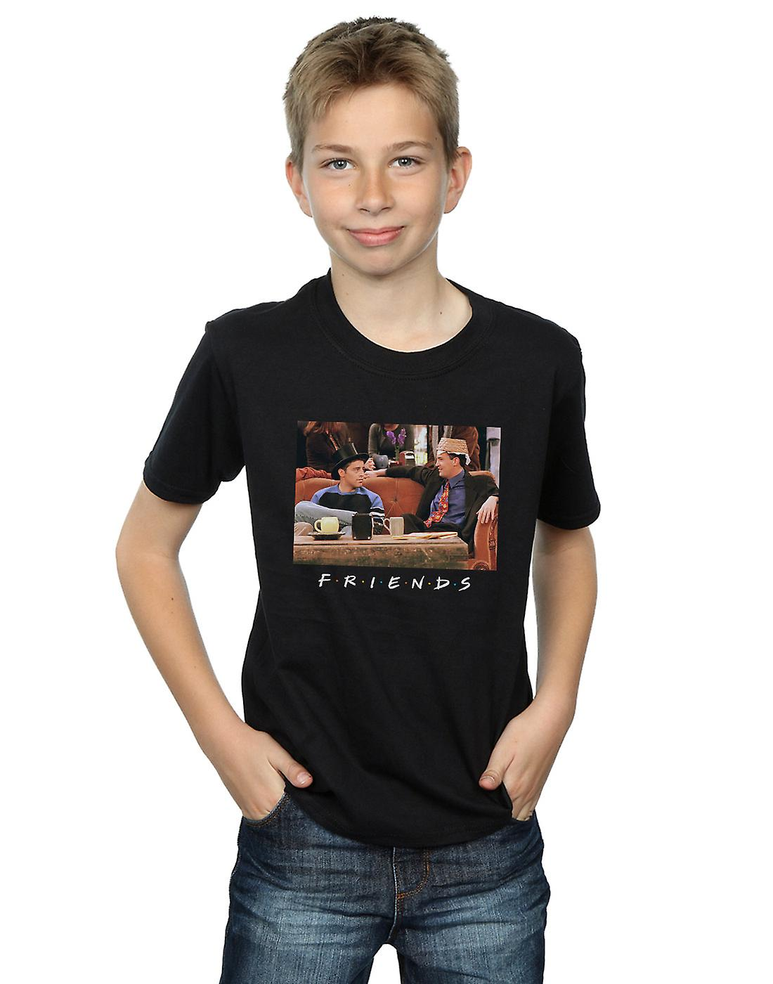 Friends Boys Joey And Chandler Hats T-Shirt