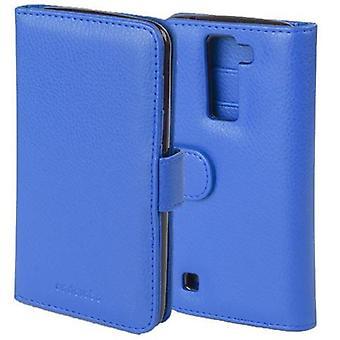 Cadorabo geval voor LG K8 2016 Case cover-telefoon geval met magnetische sluiting en 3 kaartsleuven-Case cover geval geval geval geval boek vouwen stijl