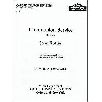 Service de la communion (texte ASB Rite A/RC cide): partie congrégationaliste