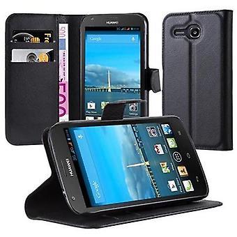Huawei ASCEND Y600ケースカバー用カドラボケース - 磁気留め金付き電話ケース、スタンド機能とカードコンパートメント - ケースカバー保護ケースブック折りたたみスタイル