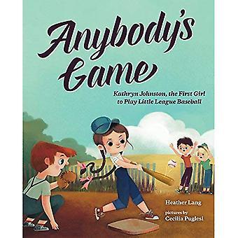 Iemand de spel: Kathryn Johnston, het eerste meisje te spelen Little League Baseball