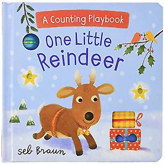 One Little Reindeer: A Counting Playbook [Board book]