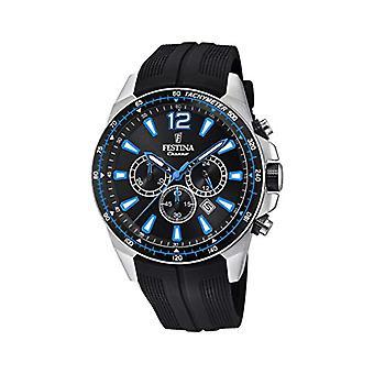 Festina watch Chronograph quartz men with strap in PU F20376/2