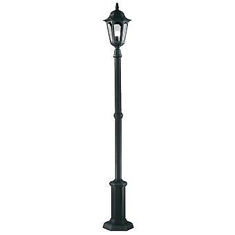 Seurakunnan Lamp Post musta - Elstead valaistus