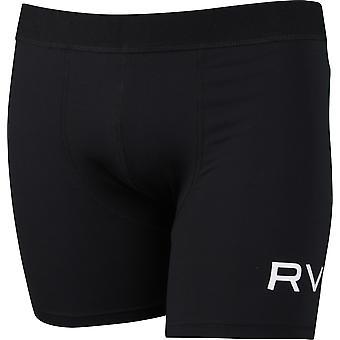 RVCA Mens Sport VA Boxer Briefs - Black