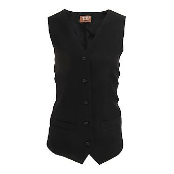 Dennys Joseph Alan Womens/Ladies Self Back Waistcoat (Pack of 2)