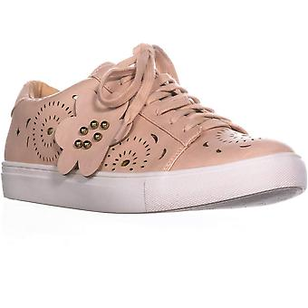 Nanette Lepore Womens Wesley Low Top Lace Up Fashion Sneakers