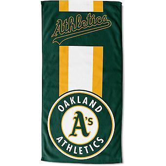 Northwest beach towel for MLB Oakland Athletics 76x152cm ZONE