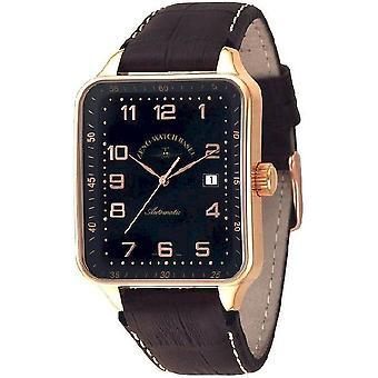 Zeno-Watch Herrenuhr SQ Retro Automatic 124-Pgr-f1