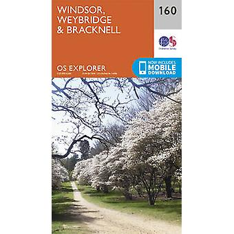 Windsor - Weybridge & Bracknell (September 2015 ed) by Ordnance Surve