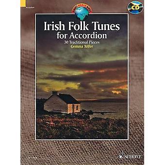 Irish Folk Tunes for Accordion - 30 Traditional Pieces by Gemma Telfer