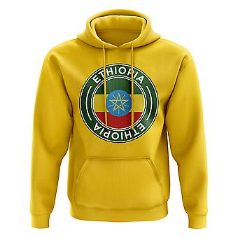 Ethiopia Football Badge Hoodie (Yellow)