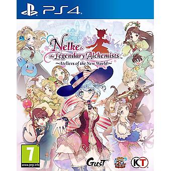 Nelke & den legendariske alkymistene Ateliers av den nye verden PS4 spillet