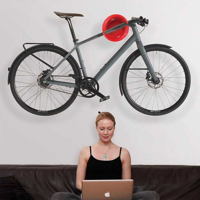 Cycloc solo-elegante Muurbevestiging fiets display en opslag rack