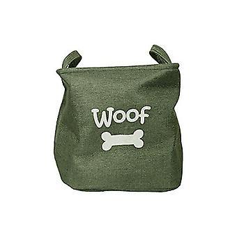ROSEWOOD płótnie zabawka zwierzę kosz/pies zabawka pole magazynu, zielony las, 33x27cm