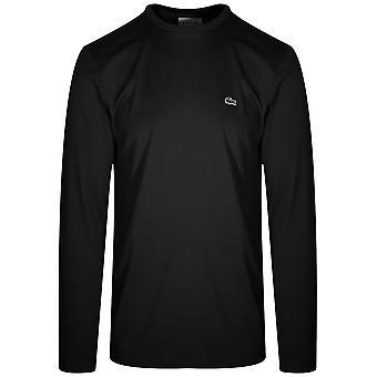 Lacoste svart langermet T-skjorte