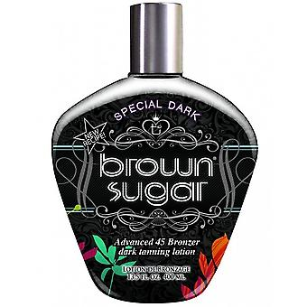Tan Incorporated Special Dark Brown Sugar Tingle et; Lotion de bronzage gratuit DHA 250ml