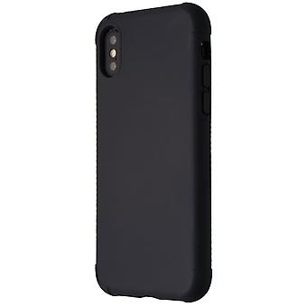 Verizon Shock Absorbing Rubberized Slim Case for Apple iPhone XS/X - Black