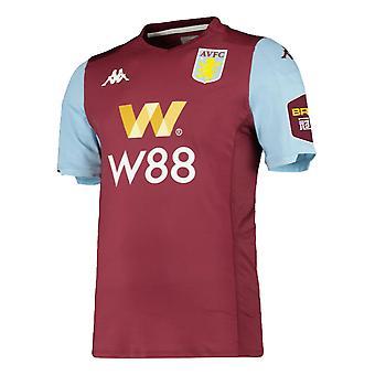 2019-2020 Aston Villa kappa hem skjorta